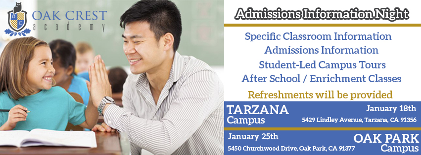 Facebook Banner Admissions Night