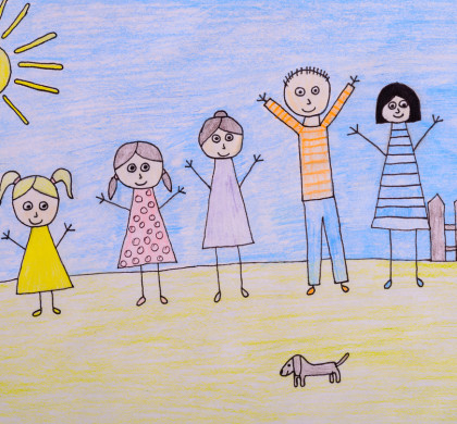 What Can We Learn From Kids' Stick Figure Drawings?
